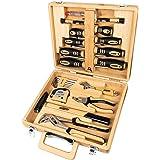Brüder Mannesmann Werkzeuge M29001 24 st. bambuverktygslåda