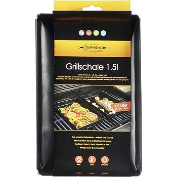 durandal selection grillschale 18x28x3cm wiederverwendbare grill schale f r gasgrill. Black Bedroom Furniture Sets. Home Design Ideas