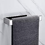 Lolypot Anneau porte-serviettes Chrome Porte Serviette Salle de Bain 304 Acier Inoxydable support de serviettes Auto-adhésif