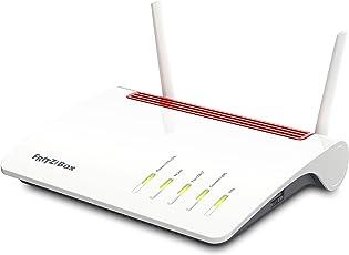 AVM FRITZ!Box 6890 (LTE- oder DSL-Modem, bis 300 MBit/s, WLAN AC+N bis 1.733 (5 GHz) und 800 (2,4 GHz) MBit/s, 4 x Gigabit-LAN), geeignet für Deutschland