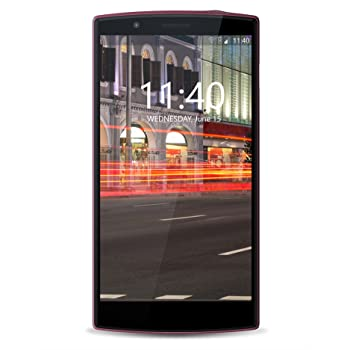 Hyve Buzz  Android Smartphone (Sunset Wine, 16GB)
