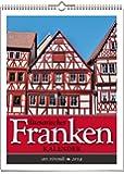 Wochenwandkalender: Literarischer Franken-Kalender 2019. Vierfarbig, Format 24 x 32 cm