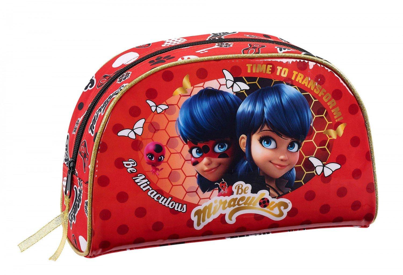 Safta Neceser Ladybug «Sparkle»Oficial Pequeño Con Asa 280x100x180mm