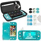 innoAura Kit di Accessori per Nintendo Switch Lite, include una Custodia per il Trasporto, Cover Case in TPU, 2 Schermi…