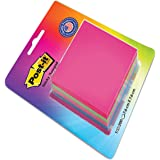 "Post-it Cube - 4 Color sticky Notes (4x50 sheets , 3"" X 3"")"