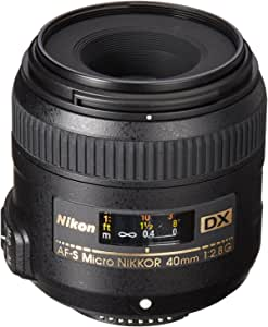 Nikon Af S Dx Micro Nikkor 40mm F 2 8g Lens Camera Photo