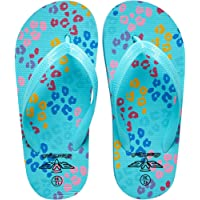 Board Angels Girls All Over Print Three Point Flip Flop