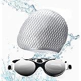 Funní Día Zwemmen Goggles, Geen Lekkende Anti-Fog UV Bescherming Crystal Clear Vision Triatlon zwemmen Goggles voor Volwassen