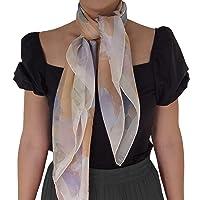 SilkOfComo-Foulard seta donna made in italy 100% - taglia unica 90x90 tutte le stagioni stile quadrato - Scialle Donna…