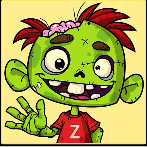 Zedd the Zombie - Grow Your Wacky - Boo-halloween Spiel