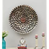 Mahalaxmi Art Handcrafted Multicolour Metal with LED Wall Art