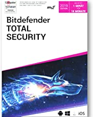 Bitdefender Total Internet Security 2019 1 PC Vollversion EFS PKC 18 Monate Limited Edition WIN MAC Android