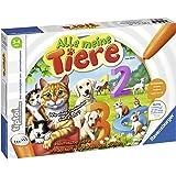 Ravensburger tiptoi 00776 - Spiel: Alle Meine Tiere / Lerne spielerisch die Zahlen von 1 bis 10 mithilfe heimischer Tiere