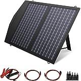 ALLPOWERS Oplader op zonne-energie, 60 W, draagbaar, lichtgewicht, outdoor, compatibel met alle mobiele telefoons, zonne-ener