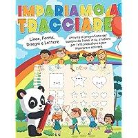 Impariamo a Tracciare: Linee, forme, disegni e lettere. Attività di pregrafismo per bambini da 3 anni in su, studiate…