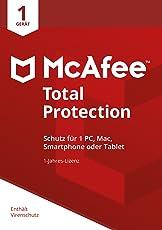 McAfee Total Protection 2018 für 1 Gerät [Online Code] [Online Code]