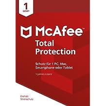 McAfee Total Protection 2018 für 1 Gerät [Online Code]