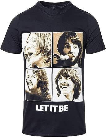 Générique Let It Be Sepia T-Shirt Homme