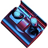 【bassi potenti】Auricolari Bluetooth, IHOUMI Cuffie Bluetooth 5.1 Senza Fili, TWS Ear-In Cuffie con Custodia Di Ricarica Porta