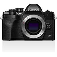 Olympus OM-D E-M10 Mark IV Micro-Four-Thirds-Systemkamera, 20 MP Sensor, 5-Achsen-Bildstabilisation, Selbstporträt-LCD…