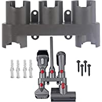 SPARES2GO Wall Mount Accessory Tool Storage Rack Holder for Dyson V7 V8 V10 V11 Vacuum Cleaner
