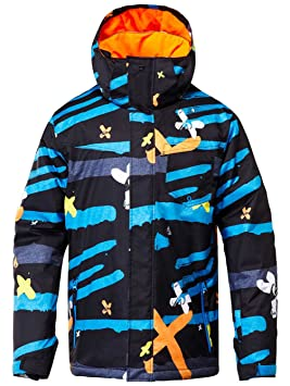 Quiksilver mission printed veste homme the line