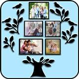 Cadres photo de l'arbre généalogique