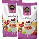 DiSano Oats, High in Protein & Fibre, 1 kg(Pack of 2)