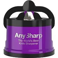 AnySharp PRO Affilacoltelli  Metal  con Ventosa  Viola