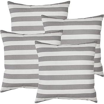 avanzza 4er set kissenh lle kissenbezug 50x50 cm in t rkis f r kissen sofakissen sofa. Black Bedroom Furniture Sets. Home Design Ideas