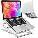 Epilum Supporto PC Portatile,Supporto Notebook con 5 Angolazione Regolabile Pieghevole Alluminio Supporto di Raffreddamento L