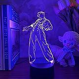 HOKVJ Luz De Noche Led 3d Harry Styles Lámpara De Regalo Para Fanáticos Decoración De Dormitorio Luz Led Sensor Táctil Que Ca