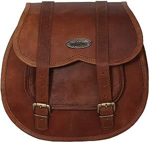 1 X Motorradtasche Aus Braunem Leder Seitentasche Satteltaschen 1 Beutel Koffer Rucksäcke Taschen