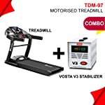Powermax Fitness TDM-97 (1.5HP), Light Weight, Foldable Motorized Treadmill for your fitness workout at home