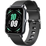 Slimme armband,Fitness Tracker,Activity Tracker met Lichaamstemperatuur,Hartslag,Bloeddruk,Bloedzuurstof en Slaapmonitor,met