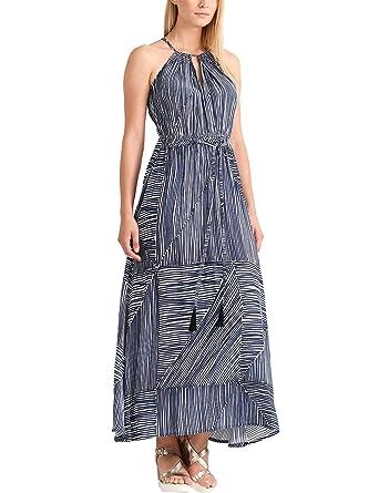 5928753d4fb086 APART Fashion Damen Kleid Fashion: Summer Highlights Blue Stripes:  Amazon.de: Bekleidung