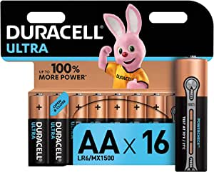 Duracell Ultra Aa Mignon Alkaline Batterien Lr6 16er Elektronik
