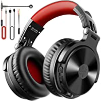 OneOdio Bluetooth Kopfhörer Over Ear [Bis zu 80 Stdn & BT 5.0] Bass Kopfhörer Kabellos mit Mikrofon für Freisprechen…