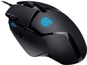 LogitechG402 Gaming Maus Hyperion Fury (mit 8programmierbaren Tasten) schwarz