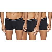Calvin Klein Underwear Men's Hip Trunks Pack of 3 - Cotton Stretch