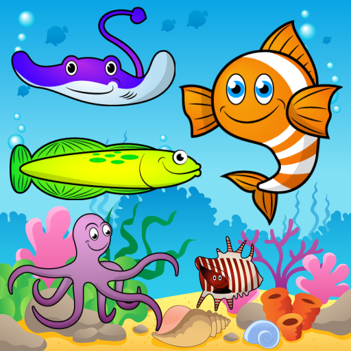 Puzzle per bambini - Il mare, i pesci e gli animali
