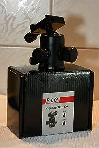 B I G 425834 Bs 1300 Ball Head Black Camera Photo