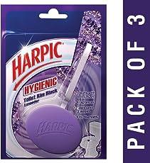 Harpic Hygienic Toilet Rim Block, Lavender, 26 g (Pack of 3)