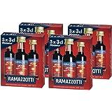 Ramazzotti Amaro – Der italienische Digestif mit 33 verschiedenen Kräutern – Absacker mit perfekter bittersüßen Note – 4 x 3 x 0,03 L