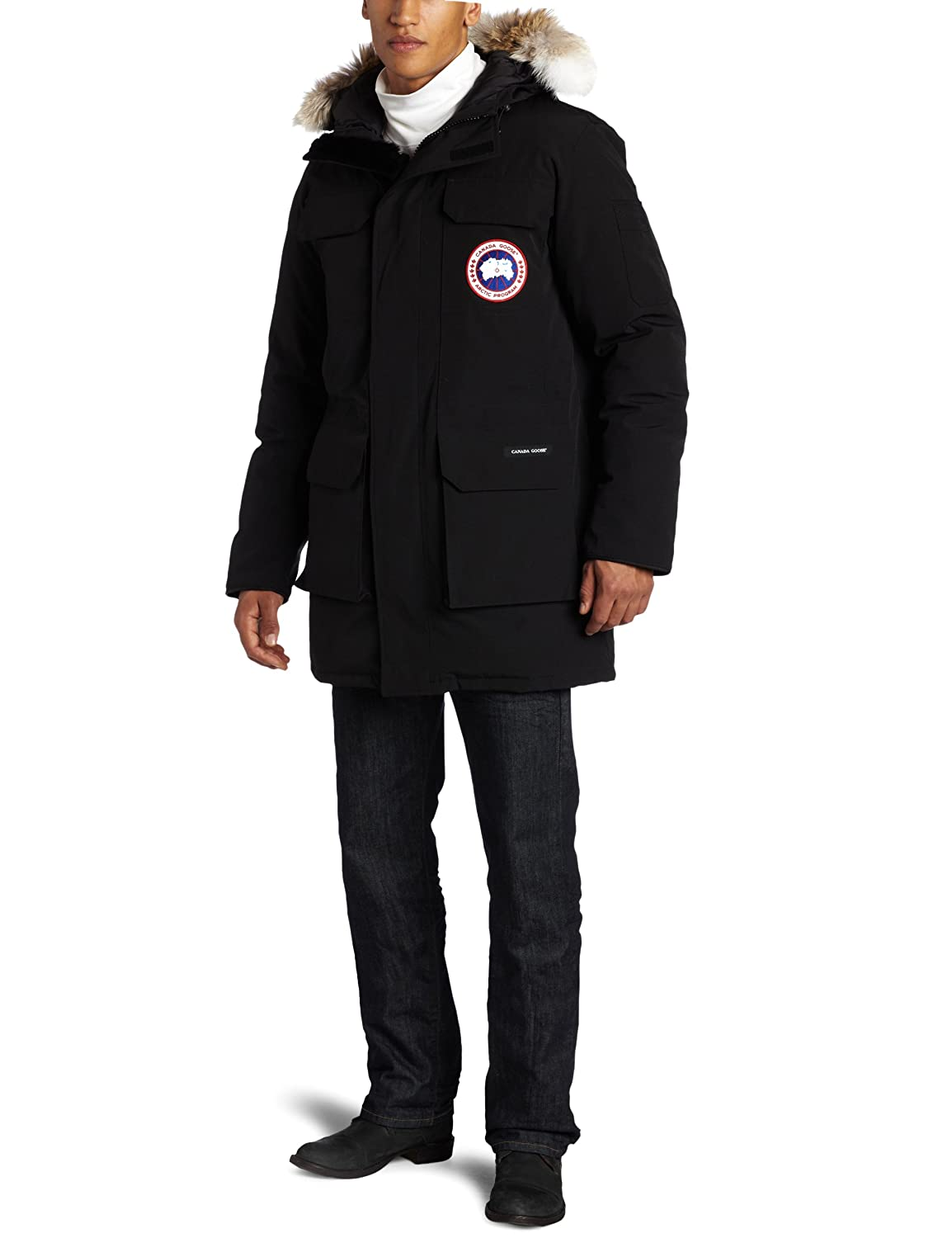 canada goose langford parka in black