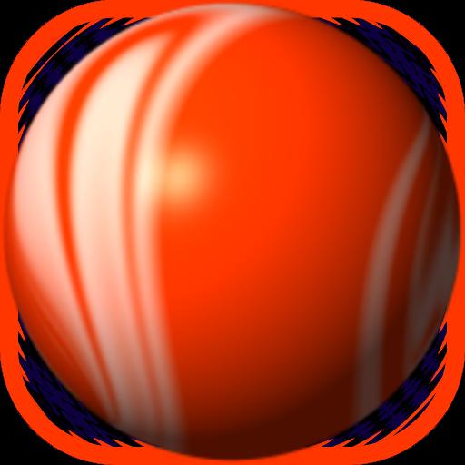Orange Bouncing Ball Free