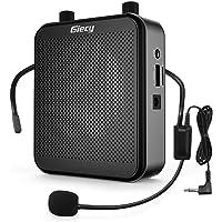 Giecy Sprachverstärker tragbar Blutooth Lautsprecher(30W) mit 7.4V/2800mAh Lithium Batterie und mikrofon headset…