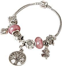 Tokenz Glitzy Charm Bracelet for Women and Girls
