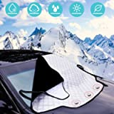 Car Windscreen Cover, URMI Car Windscreen Frost Cover Magnetic Snow Cover Windshield Ice Cover Car Front Window…