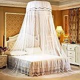 Moustiquaire de lit, Ciel de Lit, Grand Moustiquaire Filet, Filet Baldaquin, Installation Facile et Rapide, Moustiquaire Prot